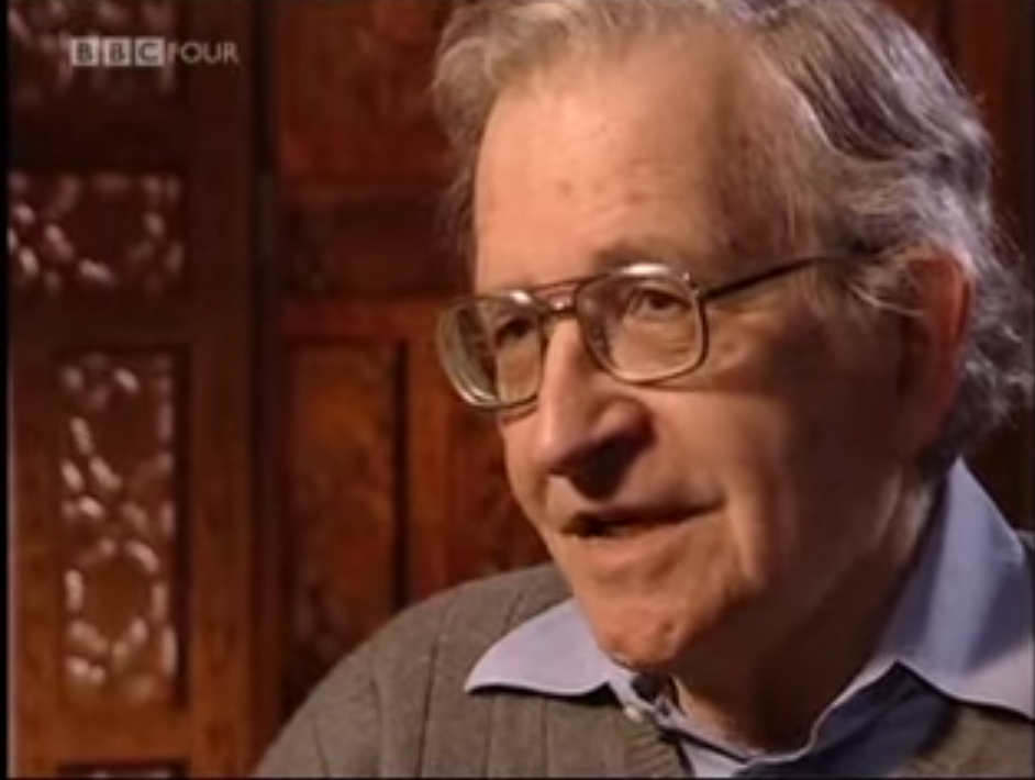 """""""Who does control the world?"""" - Noam Chomsky - BBC interview 2003"""
