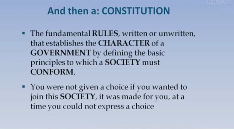 The Truth About Laws And Act's